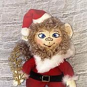 Куклы и игрушки ручной работы. Ярмарка Мастеров - ручная работа Новогодняя обезьянка символ 2016 года. Handmade.