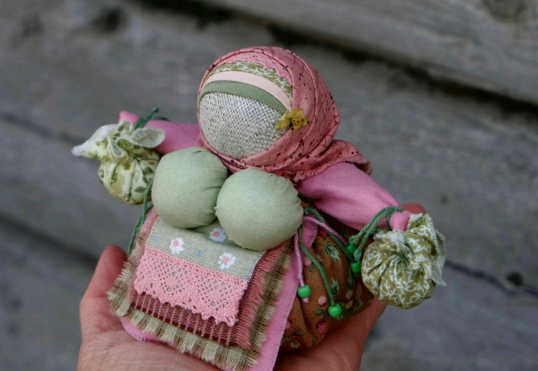 Кукла оберег Кубышка травница Мята и Душица, Народная кукла, Новокузнецк,  Фото №1