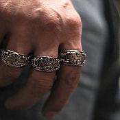Украшения handmade. Livemaster - original item Man`s ring Harley Davidson of silver 925. Handmade.