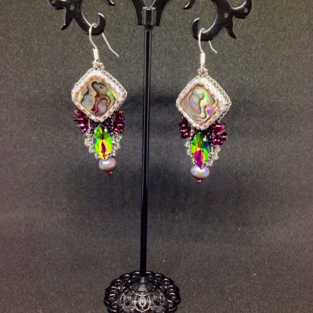 Earrings the Scent of forests, Earrings, Zaporozhye,  Фото №1