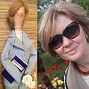 """Куклы и игрушки ручной работы. Ярмарка Мастеров - ручная работа Портретная кукла по фотографии  """"Учительница"""". Handmade."""