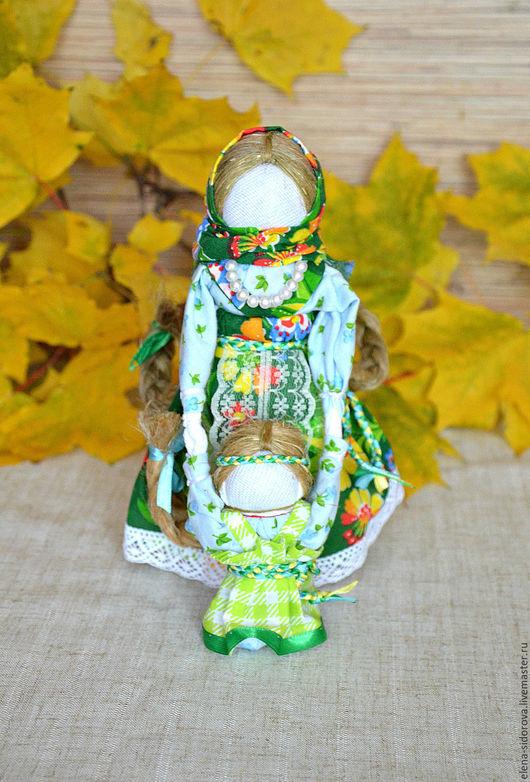 """Народные куклы ручной работы. Ярмарка Мастеров - ручная работа. Купить Кукла-оберег """"Ведучка"""". Handmade. Комбинированный, кукла-мотанка"""