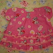 Работы для детей, ручной работы. Ярмарка Мастеров - ручная работа Платье для девочки до 6 месяцев.. Handmade.