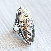 Украшения handmade. Livemaster - original item Jasper ring (909). Handmade.