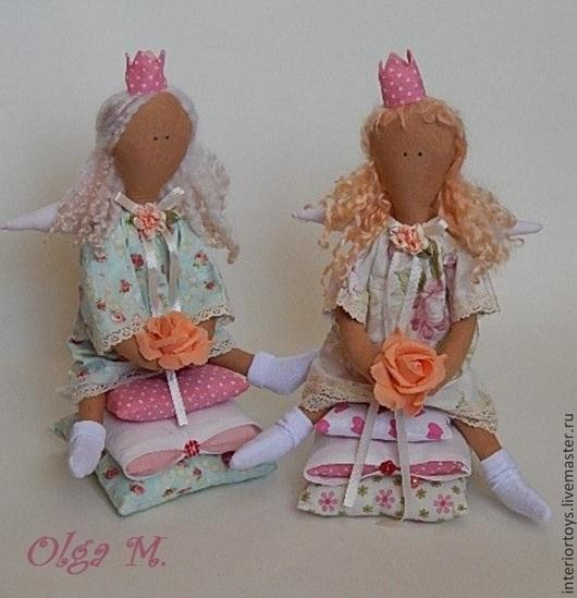 Куклы Тильды ручной работы. Ярмарка Мастеров - ручная работа. Купить Принцесски. Handmade. Кремовый, подарок девушке