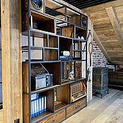 Для дома и интерьера handmade. Livemaster - original item Solid pine shelving (project K. P.