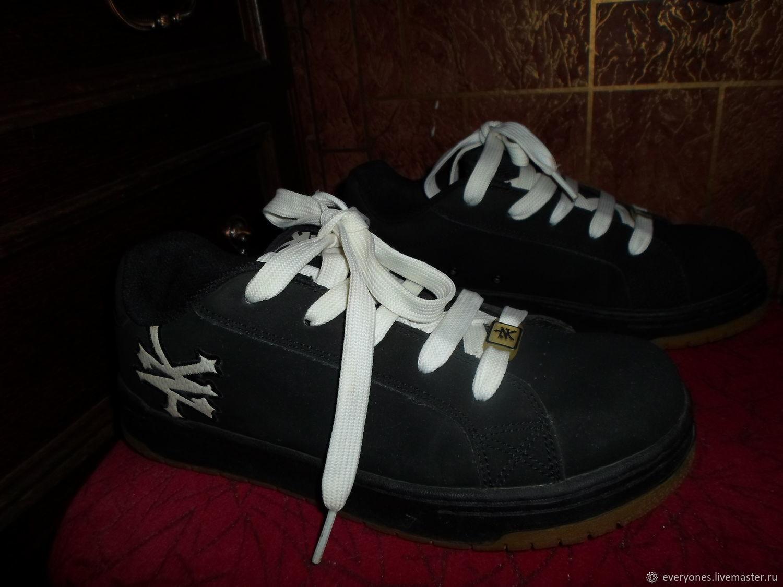84d68b91a Винтажная обувь. Ярмарка Мастеров - ручная работа. Купить Винтаж: Кроссовки  брендовые замша натуральная ...