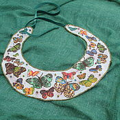 Аксессуары handmade. Livemaster - original item Collar, necklace