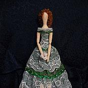 Куклы и игрушки ручной работы. Ярмарка Мастеров - ручная работа Кукла в стиле Тильда. Принцесса в зеленом. Handmade.
