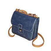 Сумки и аксессуары ручной работы. Ярмарка Мастеров - ручная работа Сумочка через плечо, маленькая сумочка, сумка на длинном ремешке. Handmade.