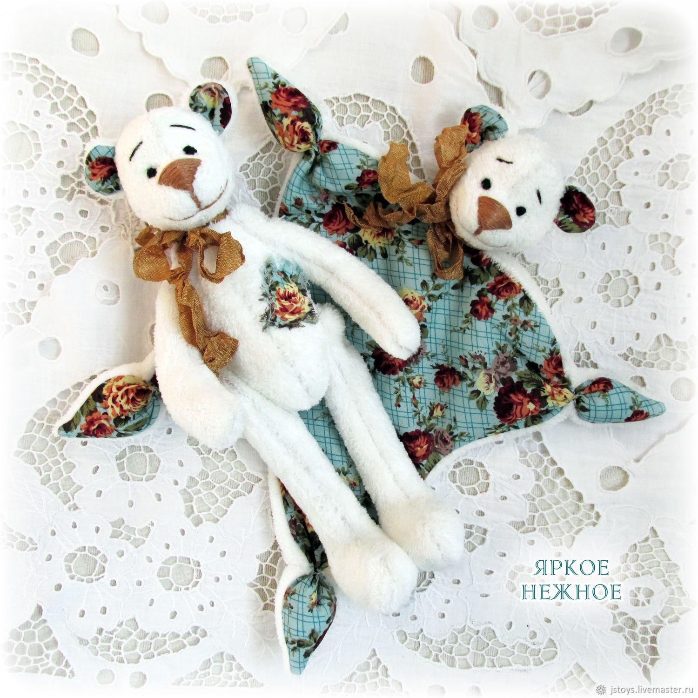 Куклы Тильды ручной работы. Ярмарка Мастеров - ручная работа. Купить Комфортер и тильда мишка. Handmade. Мишки, мишка игрушка