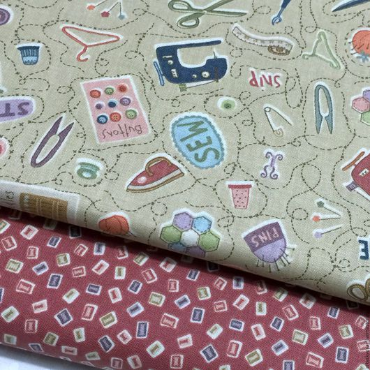 """Шитье ручной работы. Ярмарка Мастеров - ручная работа. Купить Коллекция """"Sew"""". Handmade. Бежевый, ткань для пэчворка, хлопковые ткани"""