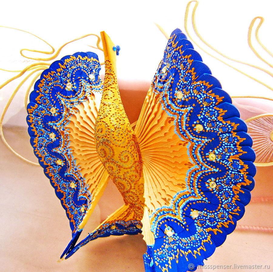 Синяя Птица счастья для молодой семьи, домашний оберег, Подарки, Москва,  Фото №1