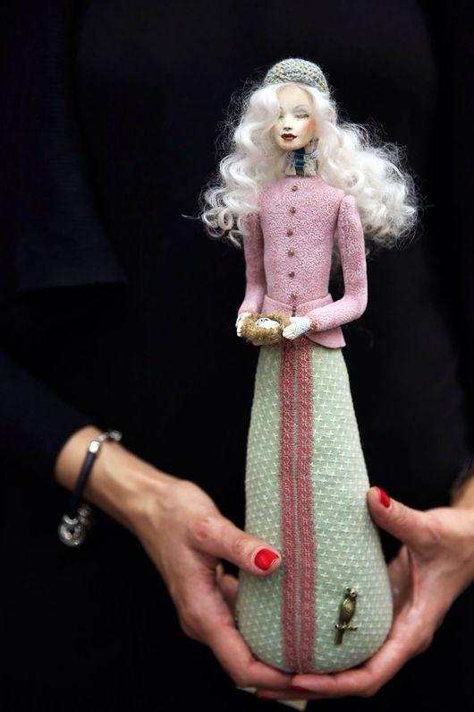 """Коллекционные куклы ручной работы. Ярмарка Мастеров - ручная работа. Купить кукла Татьяна из коллекции """"Весна"""". Handmade. Кукла"""