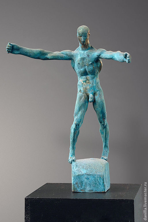 """Статуэтки ручной работы. Ярмарка Мастеров - ручная работа. Купить Интерьерная скульптура. """"Поиск равновесия"""". Handmade. Скульптура, интерьерная статуэтка"""