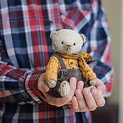 """Куклы и игрушки ручной работы. Ярмарка Мастеров - ручная работа Тедди мишка """"Феденька"""". Handmade."""