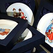 """Посуда ручной работы. Ярмарка Мастеров - ручная работа 7 тарелок """"7 Дней"""" к свадьбе. Handmade."""
