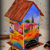 """Для дома и интерьера ручной работы. Ярмарка Мастеров - ручная работа Чайный домик """"Воспоминания"""". Handmade."""