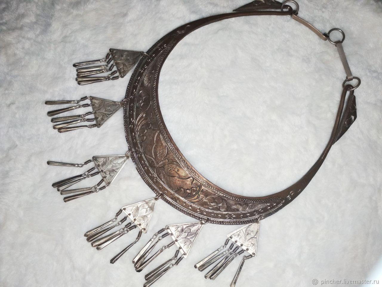 Hryvnia early 19th century, Vintage necklace, Volgograd,  Фото №1