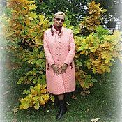 Одежда ручной работы. Ярмарка Мастеров - ручная работа Пальто, связанное крючком. Handmade.