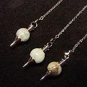 Фен-шуй и эзотерика handmade. Livemaster - original item The pendulum aquamarine. Handmade.