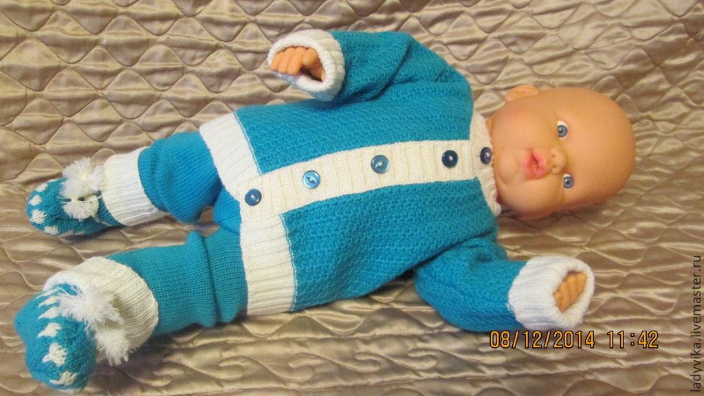 Вязание для новорожденных костюмчики для мальчиков 20