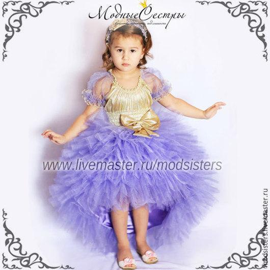 """Одежда для девочек, ручной работы. Ярмарка Мастеров - ручная работа. Купить Платье """"Сирень"""" Арт.242. Handmade. Сиреневый"""