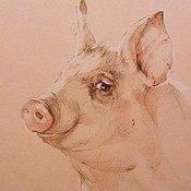 Картины и панно ручной работы. Ярмарка Мастеров - ручная работа Жизнь в розовом. Handmade.