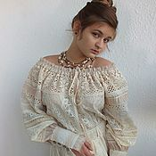 Одежда handmade. Livemaster - original item Tunic style boho