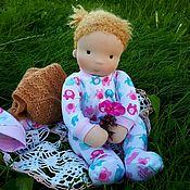 Куклы и игрушки ручной работы. Ярмарка Мастеров - ручная работа Вальдорфская кукла пупс Игруля. Handmade.