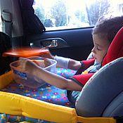 Сувениры и подарки ручной работы. Ярмарка Мастеров - ручная работа Столик для авто-кресла в машину. Handmade.