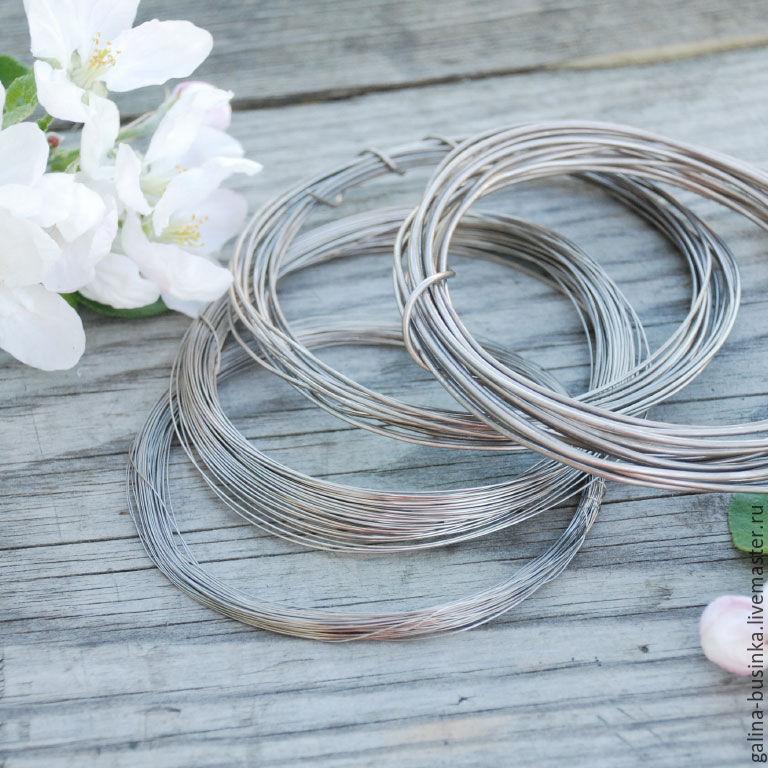 Wire of Nickel silver, diameter 0,3 mm; 0,5 mm; 0,8 mm; 1,0 mm; 1,5 ...