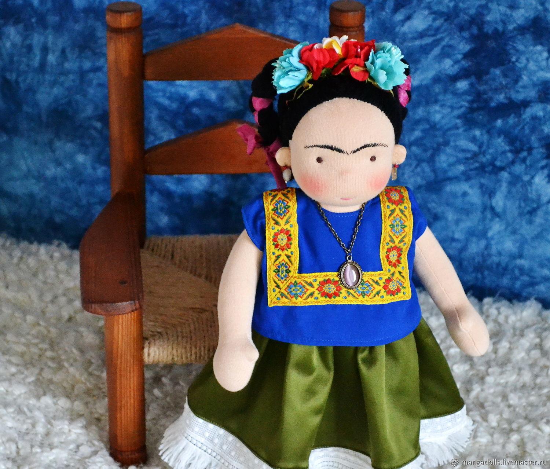 Фрида, вальдорфская кукла (35 см), Вальдорфские куклы и звери, Томск,  Фото №1