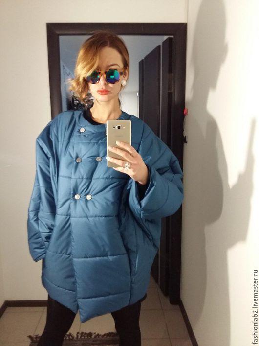 """Верхняя одежда ручной работы. Ярмарка Мастеров - ручная работа. Купить Универсальный пуховик -куртка на утеплителе """"Бриз"""". Handmade."""
