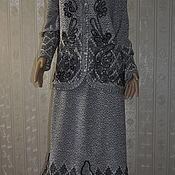 handmade. Livemaster - original item Knitted suit. Handmade.