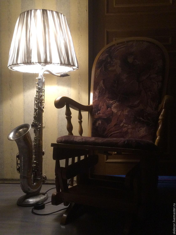 Лампа напольная мастер класс
