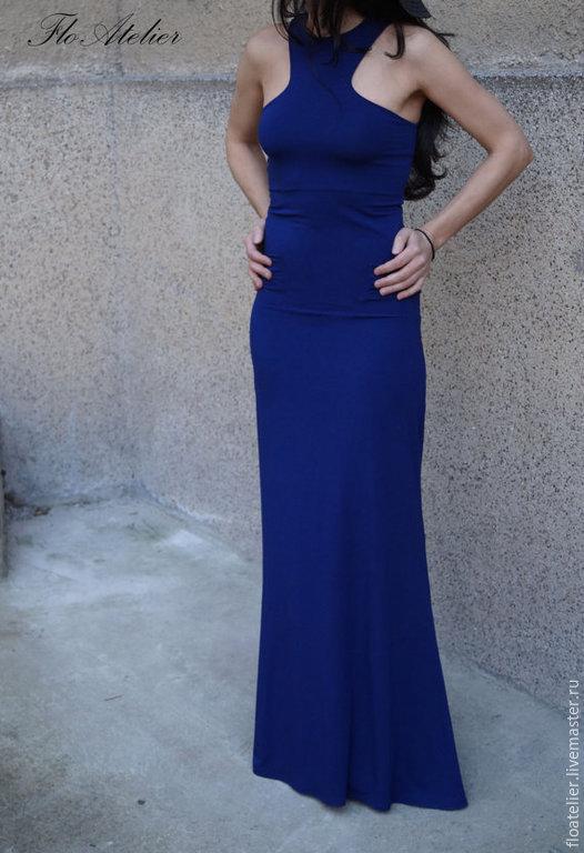 Платья ручной работы. Ярмарка Мастеров - ручная работа. Купить Летнее  платье Maxi / Элегантная вечерняя  одежда/F1478. Handmade.