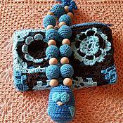Одежда ручной работы. Ярмарка Мастеров - ручная работа Совенок Слинго бусики в детской сумочке. Handmade.