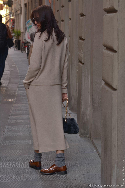 Вязаный костюм Style me pretty cashmere с юбкой – купить в ...