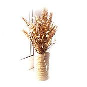 Букеты ручной работы. Ярмарка Мастеров - ручная работа Мини-букетик из позднего полевого сухостоя. Handmade.