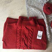 Одежда ручной работы. Ярмарка Мастеров - ручная работа Шикарный свитер из итальянской шерсти. Handmade.