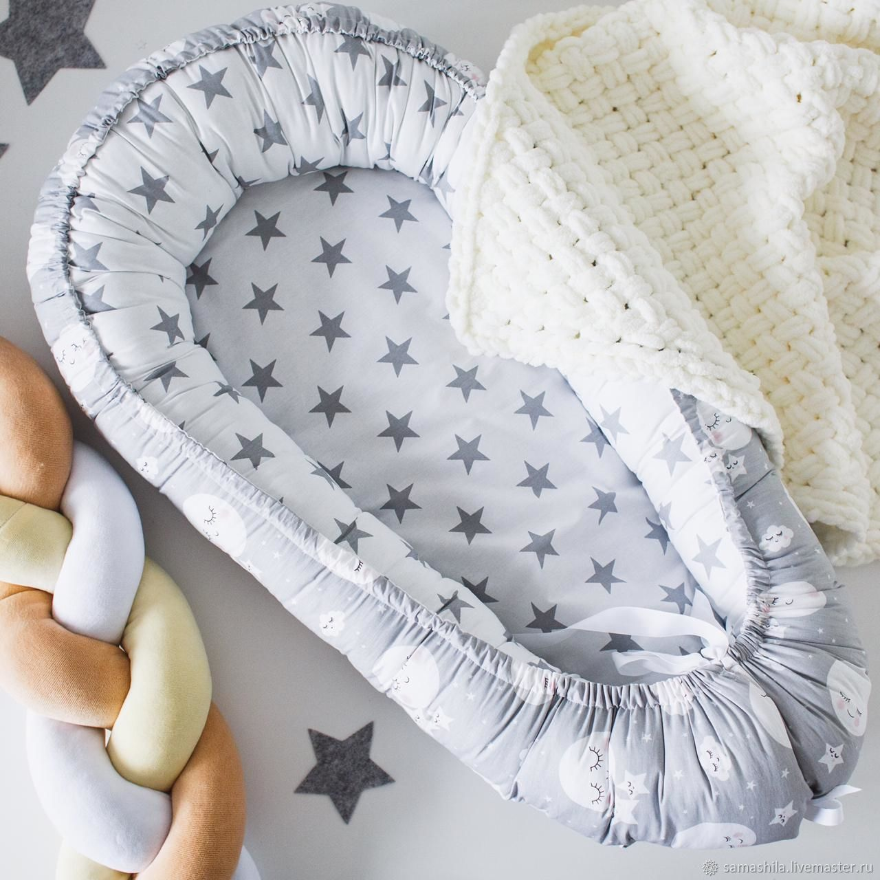 Cocoon for a newborn, Linen in the crib, Krasnoyarsk,  Фото №1