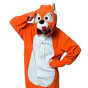 Субкультуры handmade. Livemaster - original item Costume kigurumi Fox FUNKY FOX KIGU. Handmade.