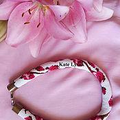 Украшения ручной работы. Ярмарка Мастеров - ручная работа Нежные розы. Handmade.
