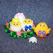 Куклы и игрушки ручной работы. Ярмарка Мастеров - ручная работа Куриное гнёздышко. Handmade.