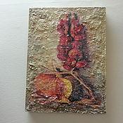 """Картины ручной работы. Ярмарка Мастеров - ручная работа Картина -  фреска """"Осенний урожай"""". Handmade."""