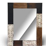 Для дома и интерьера handmade. Livemaster - original item Mirror loft of the array, SHANTI. Handmade.
