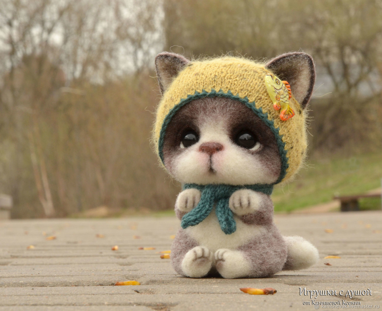 Кошечка Сима, Мягкие игрушки, Москва,  Фото №1