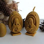 Свечи ручной работы. Ярмарка Мастеров - ручная работа Свеча Яйцо на пасху. Handmade.