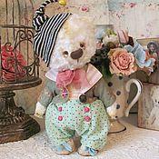 Куклы и игрушки ручной работы. Ярмарка Мастеров - ручная работа Мишка Фоксик маленький. Handmade.